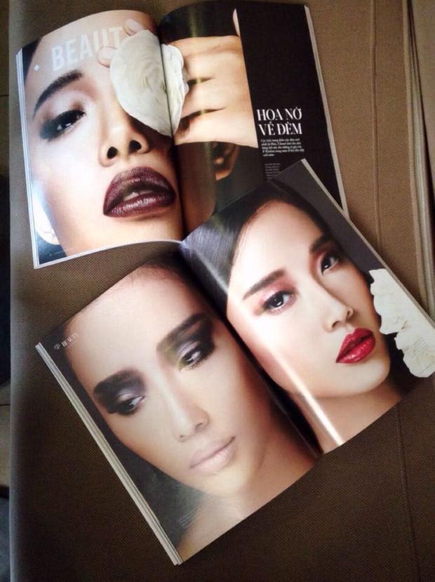 Một số hình ảnh ấn tượng của Cát Tiên trên các tạp chí thời trang.