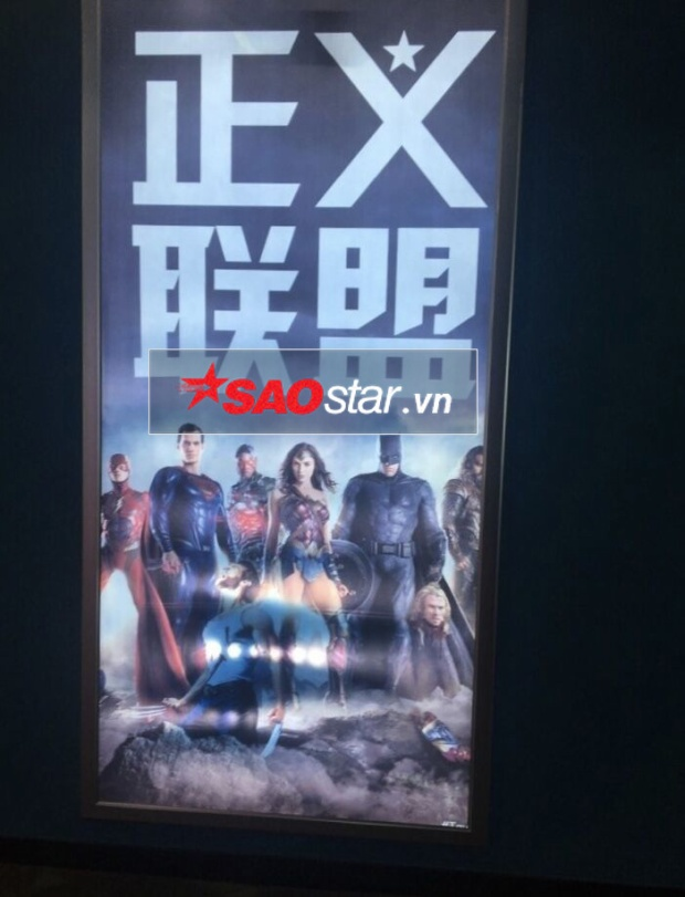 Poster không chỉ được sử dụng tại quầy vé rạp Trung Quốc,