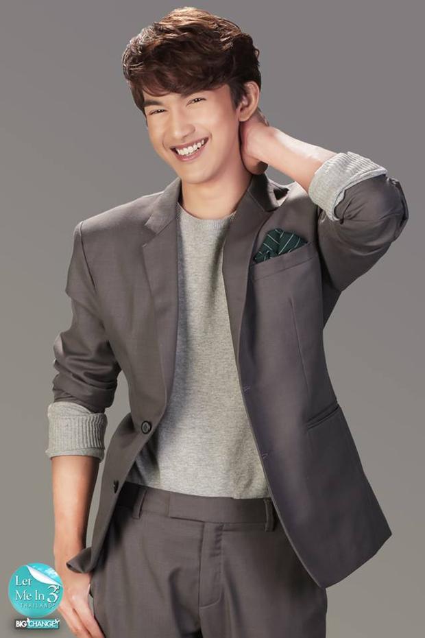 Noppajit giờ đây sở hữu khuôn mặt như diễn viên Hàn Quốc.