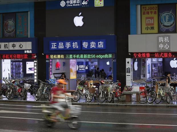 Có hơn 30 Apple Store ở Thâm Quyền, Trung Quốc. Thế nhưng thực tế Apple chỉ có duy nhất một cửa hàng chính thức ở đây cùng năm nhà phân phối được ủy quyền.