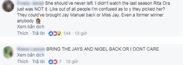 """Có fan còn """"dọa"""" không quan tâm đến nếu ANTM không mời những giám khảo kỳ cựu."""