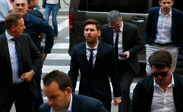 Việc gặp rắc rối với cơ quan thuế TBN cũng là một trong những nguyên nhân khiến Messi nung nấu ý định ra đi.