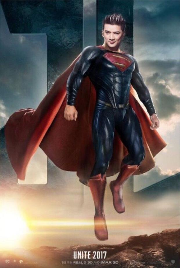 Mr.Đàm chính là Superman? Vậy là từ này ông hoàng nhạc Việt sẽ là trụ cột của cả team.