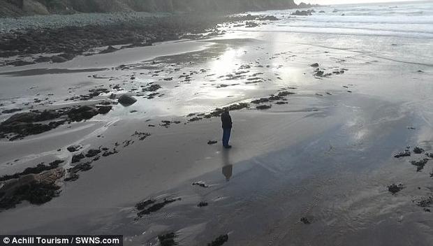 Bãi cát này được nhìn thấy lần cuối vào năm 2005 và bị bão cuốn trôi.
