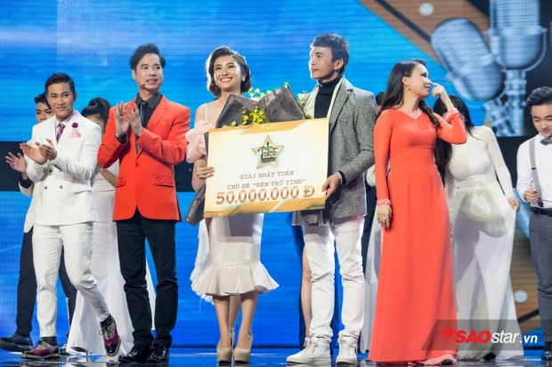 Tiêu Châu Như Quỳnh giành ngôi nhất tuần với số điểm quy đổi 9,7.