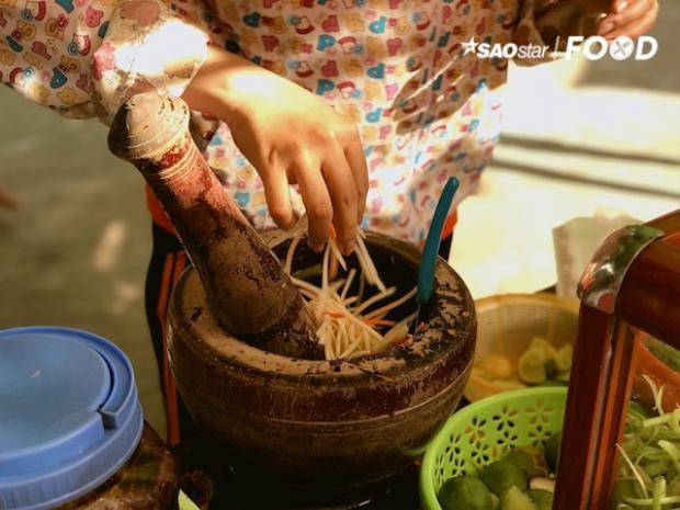 Độc đáo món gỏi đu đủ băm chỉ có ở vùng đất Tri Tôn  An Giang