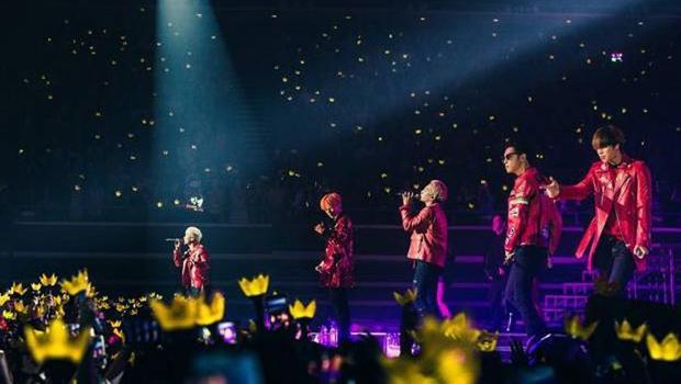 Năm 2016, các chàng trai nhà YG đứng hạng 1 với 1,86 triệu khán giả/ 60 buổi.