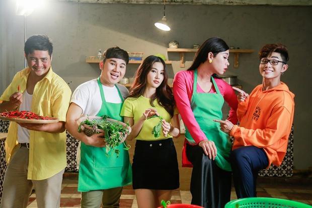 Diễm My 9x chịu nắng chịu gió làm người yêu Jun Phạm trong MV OST Cô Ba Sài Gòn