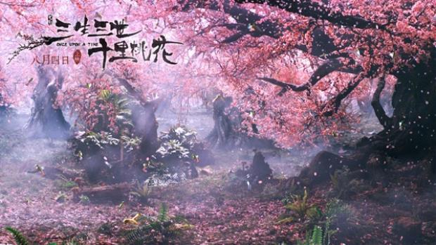 """Rừng đào Yoshino có thua kém gì mười dặm hoa đào trong """"Tam sinh tam thế""""."""