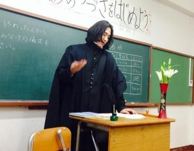 """Lại một fan nữa của loạt truyện Harry Potter, """"thầy giáo bộ môn độc dược"""", Severus Snape giữa thế kỷ 21."""