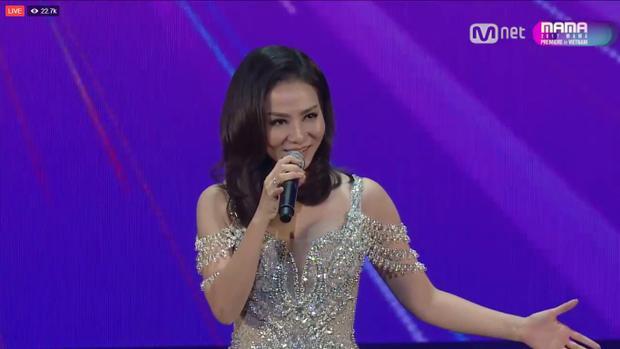 Thu Minh giữ vai trò host của lễ trao giải MAMA 2017.