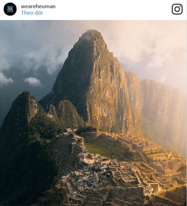 Một phiên bản Instagram của các tàn tích ở Peru.
