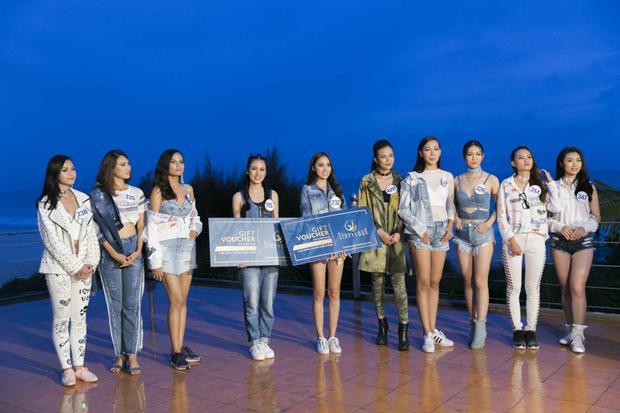Ngọc Út và Tuyết Trang là hai người đẹp chiến thắng trong thử thách lần này.