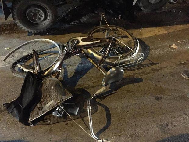 Xe đạp của một trong số các học sinh.