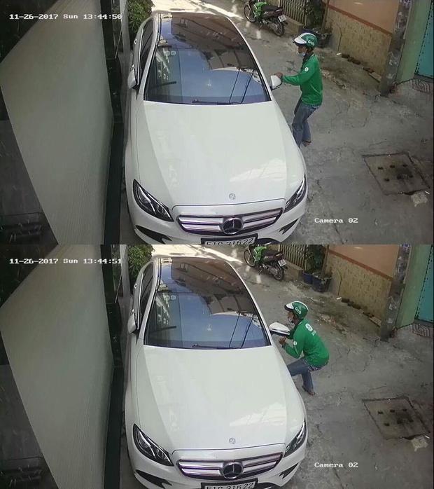 Hình ảnh được chụp từ camera an ninh.