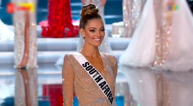 Người đẹp Nam Phi toả sáng trong đêm chung kết Miss Universe 2017.