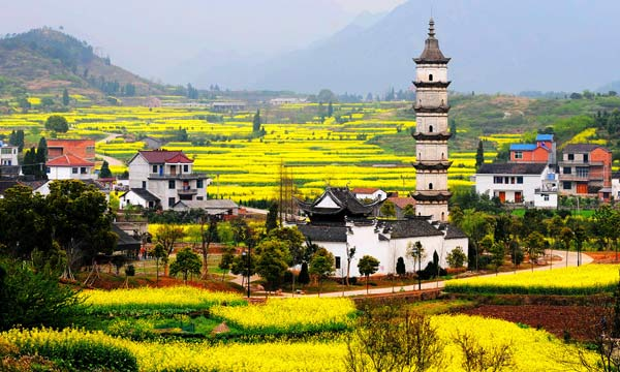 Đến thăm làng Xinye như được vượt thời gian, về lại triều đại nhà Minh - Thanh.