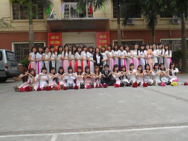 Đây là ảnh của một lớp học tại Học viện công nghệ Hà Nội