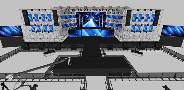 Địa điểm tổ chức liveshow với sức chứa 20.000 khán giả.