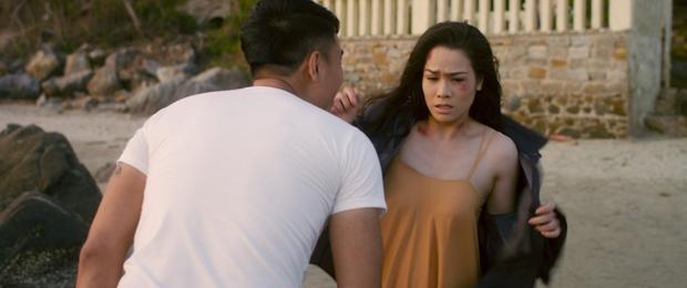 Nhật Kim Anh bị cưỡng bức và quay lại trả thù trong phim Cạm bẫy  Hơi thở của quỷ