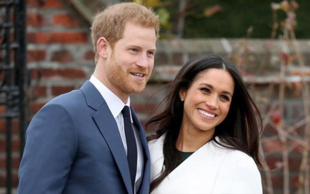 Cặp đôi Hoàng tử Harry và nữ diễn viên Mỹ Meghan Markle.