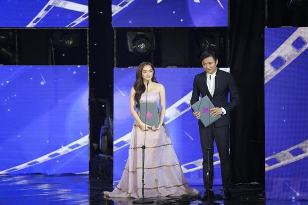 Nam diễn viên phát biểu sau khi nhận giải cùng Nữ diễn viên chính xuất sắc nhất Kaity Nguyễn (phim Em chưa 18).