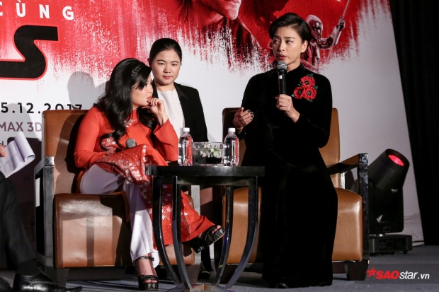 """""""Đả nữ"""" chia sẻ về quá trình quay phim cũng như tình cảm của cô và Kelly Marie Trần."""