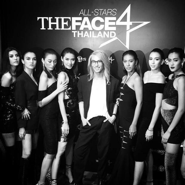 NSX Tae Kantana xuất hiện bên dàn thí sinh khủng của The Face All Star.