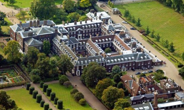 Nottingham Cottage nằm trong Cung điện Kensington, thuộc khuôn viên Hoàng gia Anh tại thủ đô London.