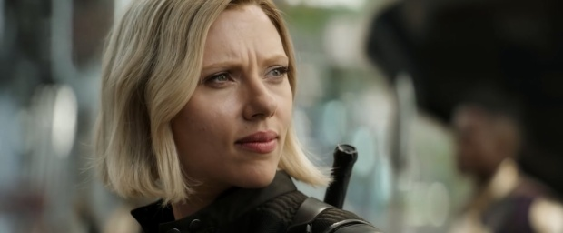 Black Widow đã đổi màu tóc