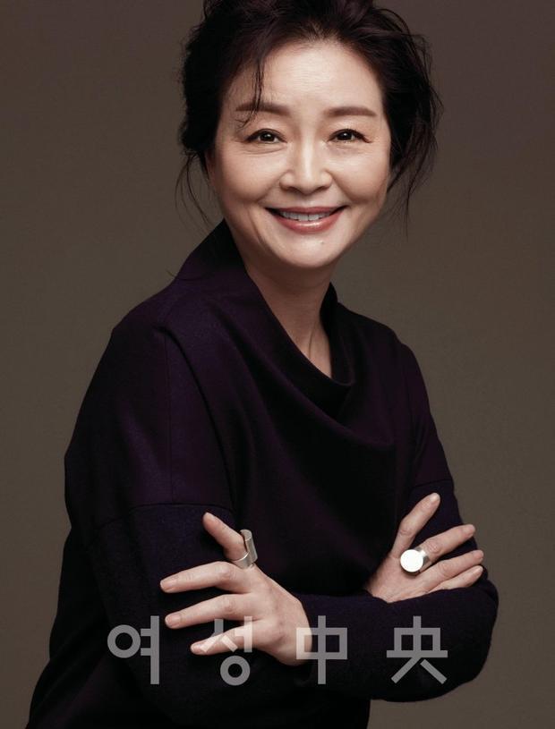Nữ diễn viên Won Mi Kyung