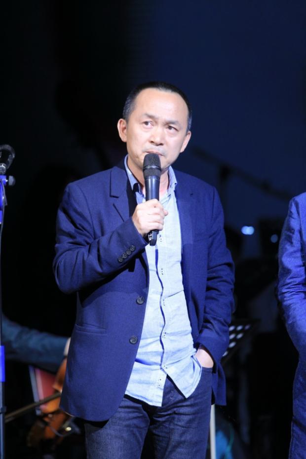 """Nhạc sĩ Quốc Trung cho rằng ý tưởng thành lập Maius Philharmonic có sự """"điên rồ"""" nhưng đây là sự điên rồ anh yêu quý và ủng hộ."""