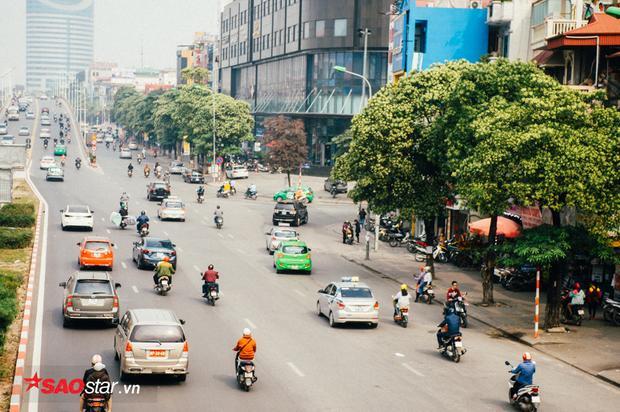 Cung đường Trần Duy Hưng - Nguyễn Chí Thanh.
