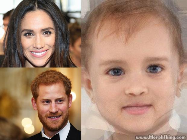 Hoàng tử Harry còn chưa kết hôn, dân mạng đã đua nhau phán diện mạo tiểu công chúa, tiểu hoàng tử