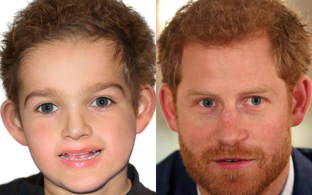 Con trai được dự đoán có nhiều nét giống Hoàng tử Harry.