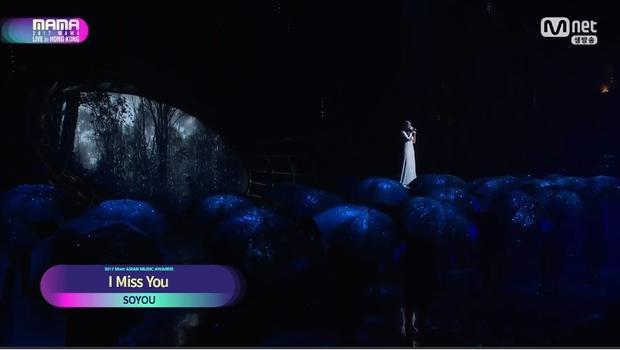Cựu thành viên Sistar Soyou khiến bầu không khí lắng đọng với bản ballad I Miss You.