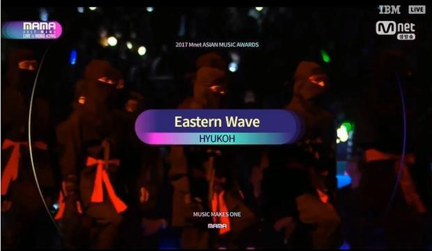 Huykoh đổ bộ sân khấu với màn trình diễn đầy ma mị: Eastern Wave.