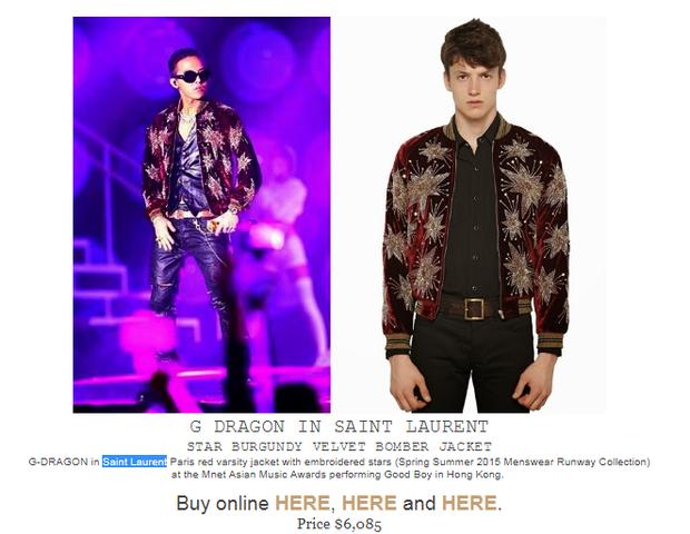 Nguyên bản chiếc áo khoác được nhà thiết kế giới thiệu.