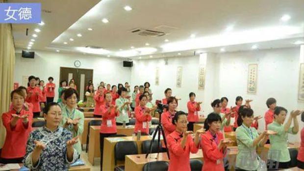 Hình ảnh tại một lớp học của ngôi trường.