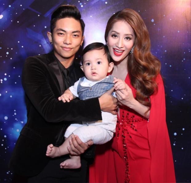 Gia đình nhỏ của Khánh Thi - Phan Hiển.
