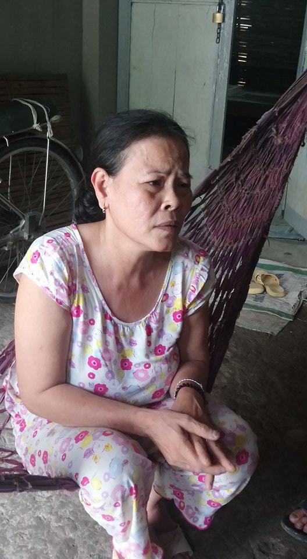Bà Dung chia sẻ với PV.