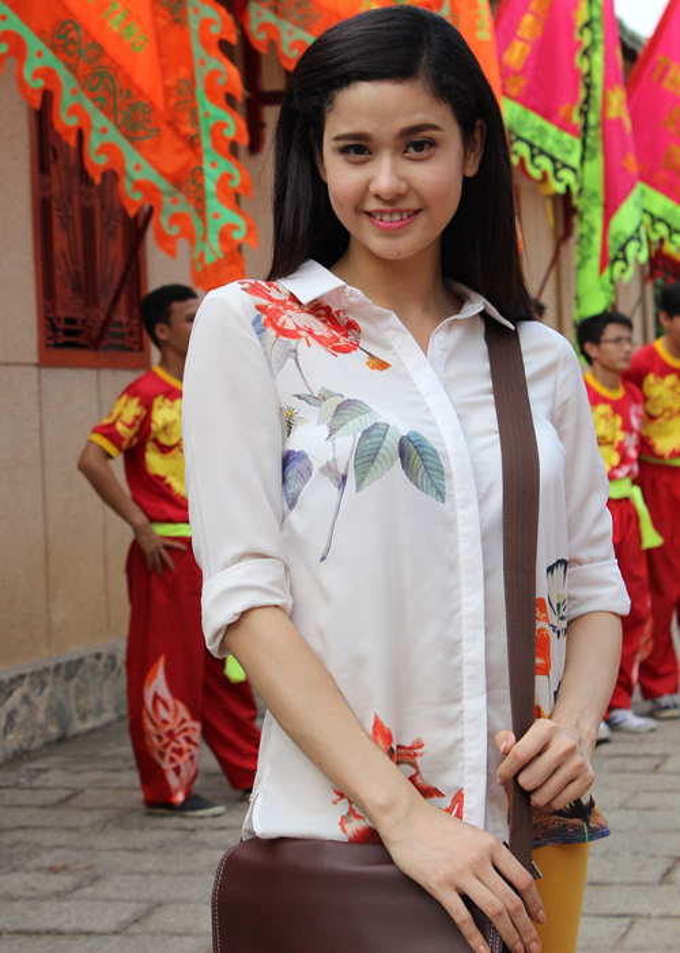 Ảnh tình tứ của Bình Minh  Trương Quỳnh Anh không phải trong phim Thề không gục ngã