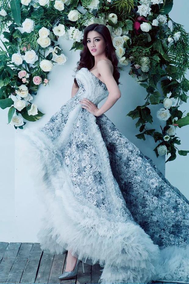 Mỹ Duyên là một trong những ứng cử viên nặng ký cho vương miện Hoa hậu Hoàn vũ Việt Nam năm nay.
