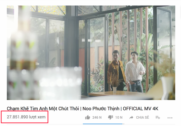 Tối 5/12, MV đột nhiên được đăng trở lại trên Youtube với số view hoàn toàn nguyên vẹn: 27 triệu.