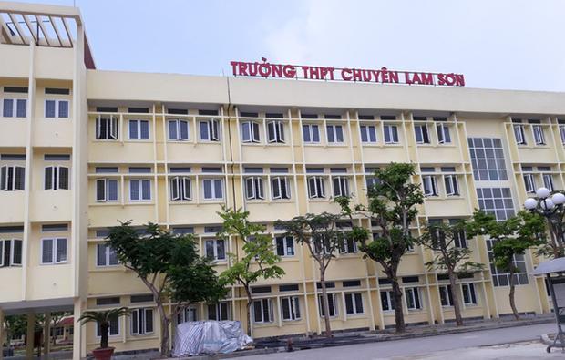 Trường THPT chuyên Lam Sơn - nơi nam sinh theo học.