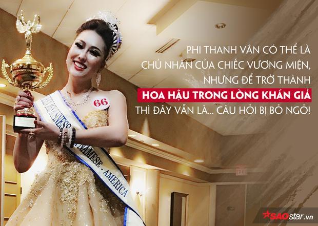 Phi Thanh Vân trở thành Hoa hậu: Khi vương miện được ban phát khắp nơi?