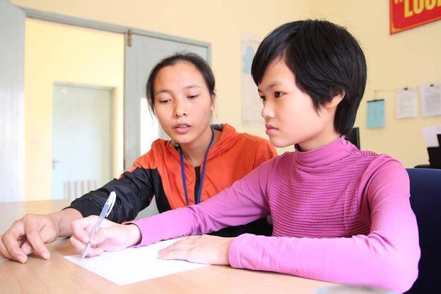 Hiện tại bé Hà đang được nuôi dưỡng, chăm sóc tại Trung tâm phục hồi chức năng Việt - Hàn.