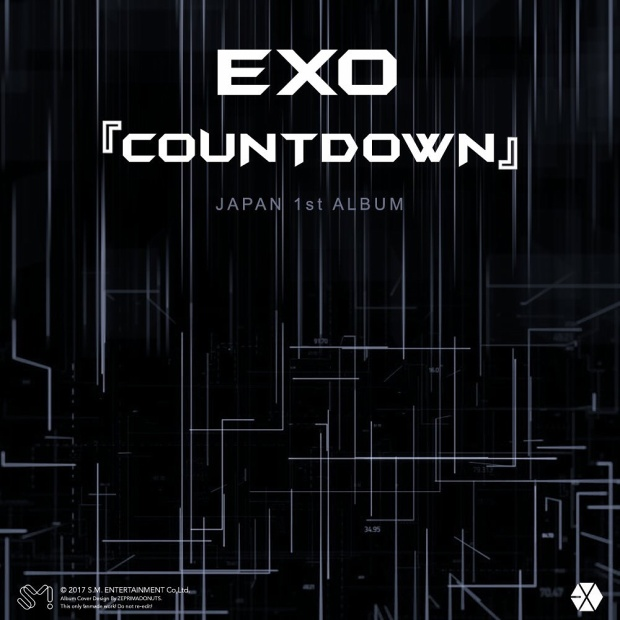 Bìa album tiếng Nhật của EXO.