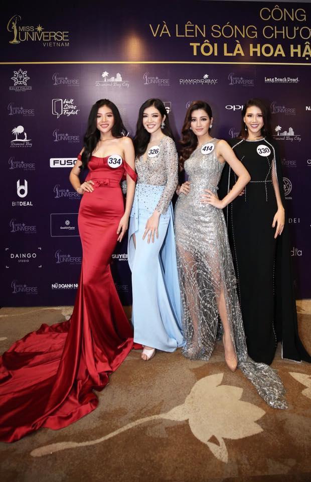 Chúng Huyền Thanh nổi bật bên cạnh các thí sinh trong chương trình truyền hình thực tế Tôi là hoa hậu.