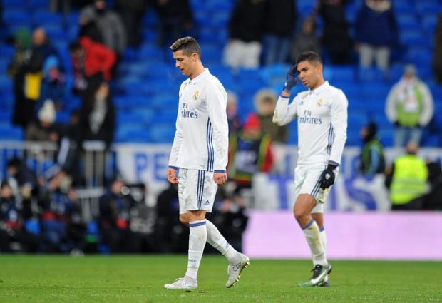 """Real sa sút 1 phần vì Ronaldo """"tịt ngòi""""."""